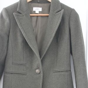 Ann Taylor Loft Green Blazer size 0